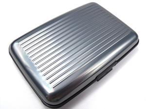 Aluminium Credit Card Wallet Holder Rfid Blocking 6 Colours