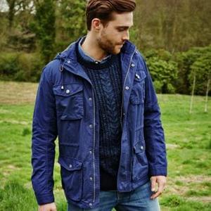 Cherokee Men's Navy Coat - Just £10!