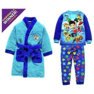 Paw Patrol Discount Robe & Pyjamas Set - 3-4 Years.