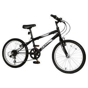 "Brand new Terrain Hallam 20"" Kids Mountain Bike Black - Perfect for Christmas!"