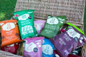 Hamper of Ten Acre Crisps and Popcorn
