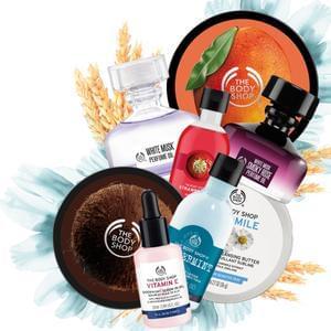 Get £10 off a £20 spend in-store at The Body Shop (O2 Priority)