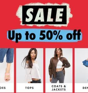 50% Off ASOS Mid-Season Sale