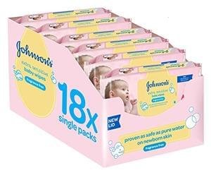 1,000+ Johnson's Baby Wipes only £8.96 (less than 1p each!)