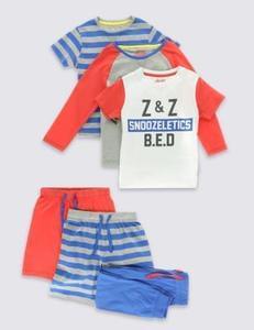 3 Pack Snoozeletics Pyjamas (1-8 Years)