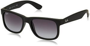 Ray-Ban Unisex Justin Wayfarer Non-Polarized Sunglasses