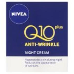 Nivea Q10 Plus Anti-Wrinkle Face Night Cream 50ml