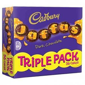 Triple pack of Jaffa Cakes discount