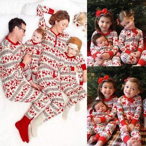 AMAZING matching Christmas PJs for all the family!