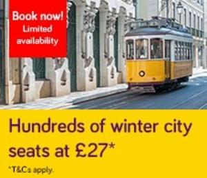 Winter Break. £27. Faro…Lisbon (NEW!) and more