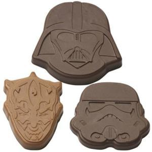 STAR WARS chocolate moulds GREAT STOCKING FILLER! Only £1.99