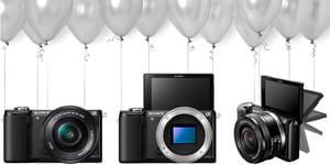 Win A Sony A5000 Camera