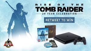 Win a PS4 with Tomb Raider from IGN