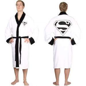 Superman White Adult Bath Robe £16.20 (using code)