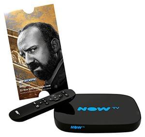 NOW TV Smart Box with 5 Month Entertainment Pass - Prime only deal