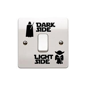 Star Wars Dark Light Side Switch Sticker :)