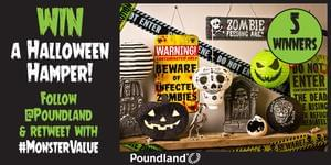 Win A Poundland Halloween Hamper