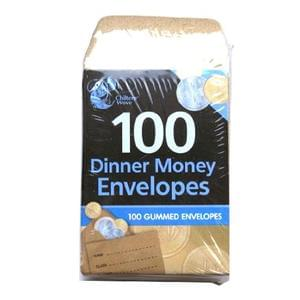 PRICE DROP! Parents!! Dinner Money Envelopes pack of 100+Free Del