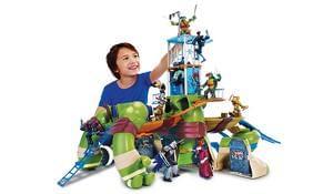 Teenage Mutant Ninja Turtles Mutations Giant Leo Playset