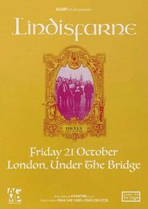 Lindisfarne Concert in Fulham 21st October. Only £15!