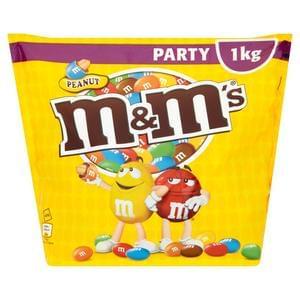 Peanut M&M's: 1KG for 90p at Poundland!