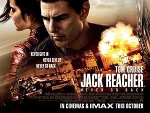 Win Jack Reacher: Never Go Back Film Premiere Tickets