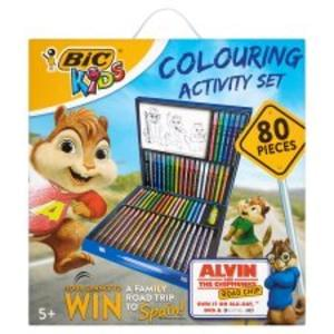 Wow Bic Kids 80-Piece Colouring Activity Set