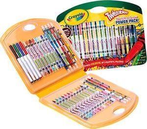 HALF PRICE Crayola Twistables 40 pcs at Argos Ebay Outlet