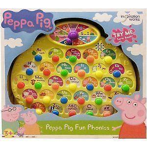 70% saving on selected toys at Boots including this Peppa Pig Phonics Game