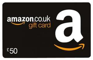 Win £50 Amazon Voucher