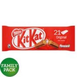 Kitkat 21 Pack Double finger bar ( possible glitch ) @ Morrisons