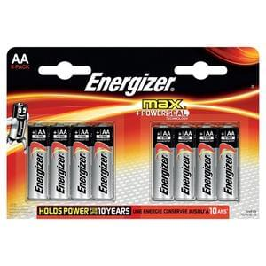 Energizer Max AA 8 Pack. Buy 1 Get 1 Free at Tesco.