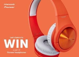 Win a set of Pioneer headphones