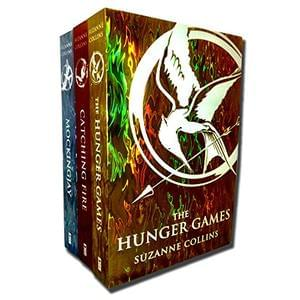 The Hunger Games Trilogy - 3 Book Set.  ONLY £8.99