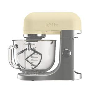 Kenwood kMix Almond food mixer with glass bowl KMX52G
