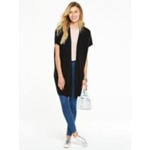V by Very Grown On Sleeve Edge To Edge Cardigan Discount @ Very