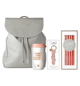 BOOTS: Zoella 'On My Travels' backpack.