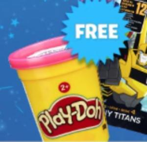 Free Play-Doh and Toys at Smyths Saturday 22nd October (in-store)