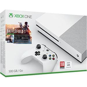 Xbox One S 500GB Battlefield 1 Bundle + FREE Delivery