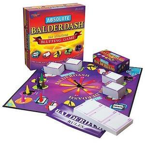 Absolute Balderdash !!!! You can win without knowing a thing! Age 12-18