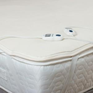 Silentnight Heated Fleece Memory Foam Mattress Topper