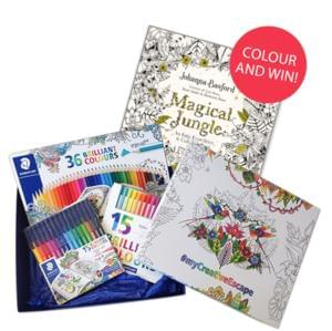 "Win amazing STAEDTLER products & Johanna Basford's book ""Magical Jungle"""