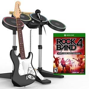 Rock Band 4 Band-In-A-Box Xbox One Software Bundle