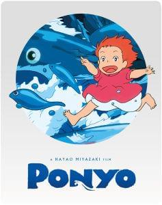 Ponyo Blu-Ray & DVD Steelbook Edition just £9.99 at Zavvi