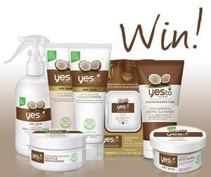 Win a Yes To Coconut Bundle