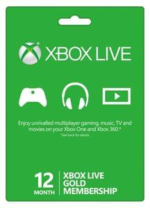 Discount 12 Month Xbox Live Gold Membership Save £9 @ Electronic first
