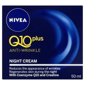 Nivea Q10 Plus Anti-Wrinkle Night Cream 50ml Better Than Half Price @ Superdrug