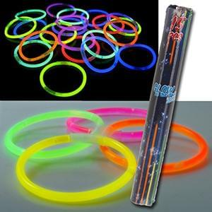 Cheapest Glow Stick Bracelets Online: Pack of 15 (with Delivery)