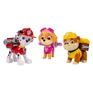 Paw Patrol Action Pack Rescue Team - Marshall, Skye and Rubble
