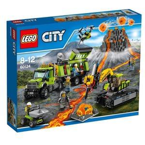 CHEAPEST PRICE £54.99 LEGO City Volcano Exploration Base 60124. Save £25